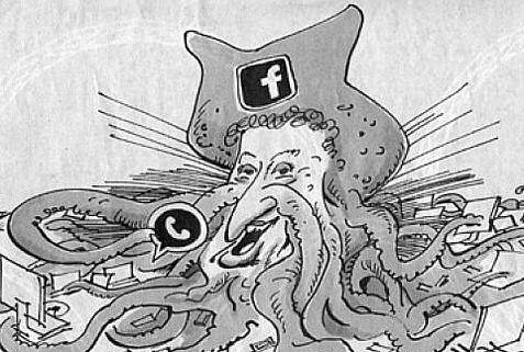 """Mark Zuckerberg, vignetta tedesca scatena polemiche: """"E' antisemita"""""""
