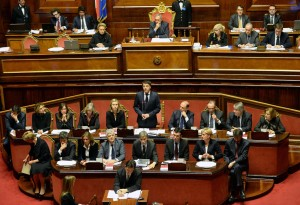 Per l'Italia: 11 senatori su 12 votano fiducia a Renzi. Maurizio Rossi non vota
