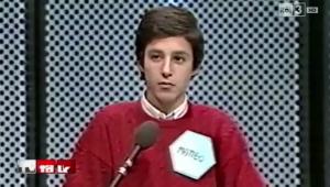 Dopo Matteo Renzi, ecco Matteo Salvini giovanissimo concorrente di quiz