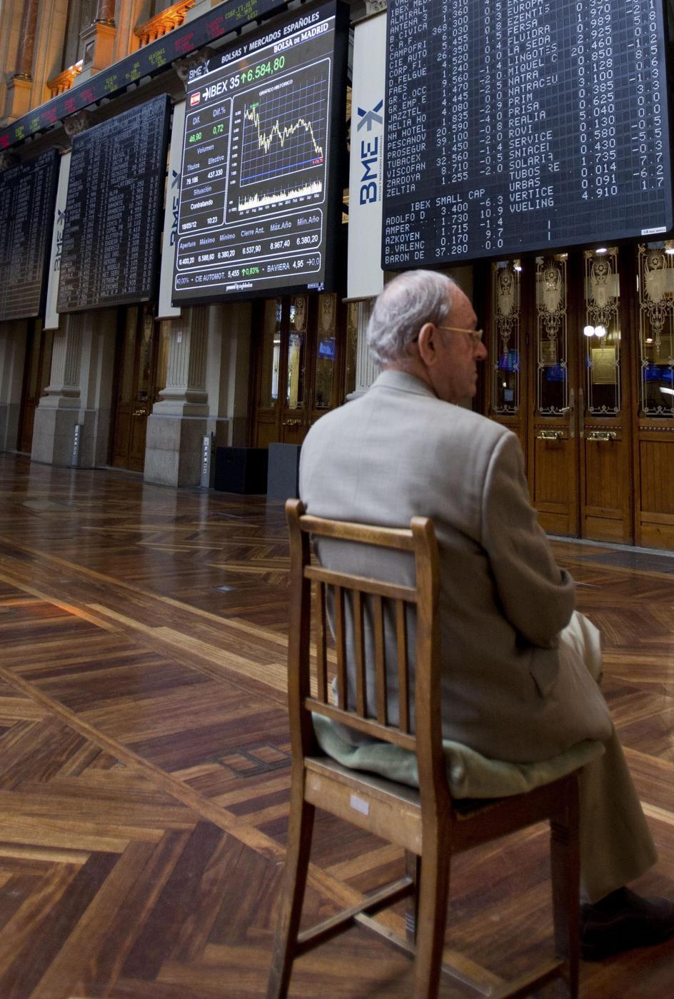Gli speculatori puntano sul ribasso di Piazza Affari e Wall Street