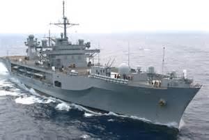 La Mount Whitney, ammiraglia flotta Usa nel mediterraneo