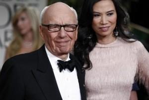 "Rupert Murdoch, lettera di Wendi Deng a Tony (Bair?): ""Bel sedere"""