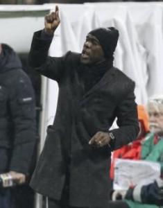 Napoli-Milan, formazioni Serie A: Seedorf sfida Benitez con Mario Balotelli (LaPresse)