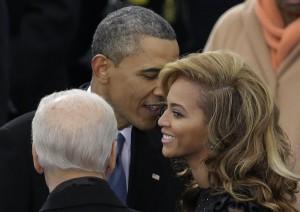 Barack Obama con Beyoncè
