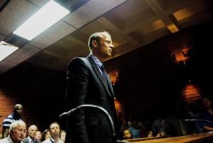 Oscar Pistorius su internet la sera dell'omicidio di Reeva Steenkamp