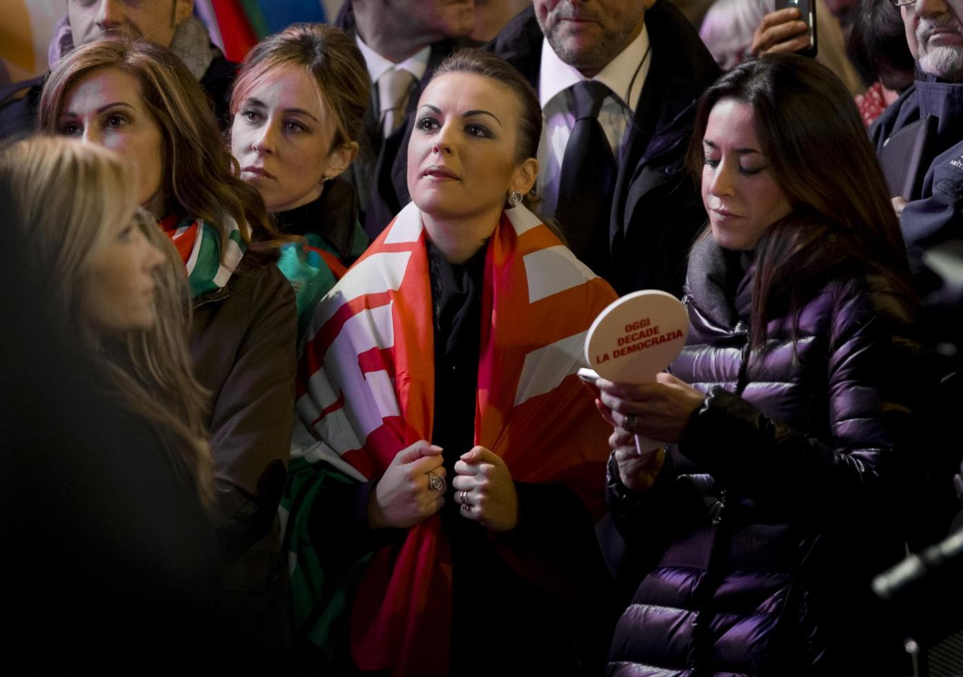 Comizio di Silvio Berlusconi