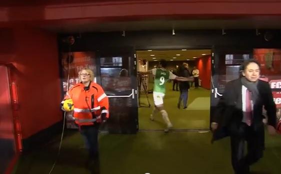Graziano Pellè spacca tutto negli spogliatoi: Feyenoord pari alla fine (video)