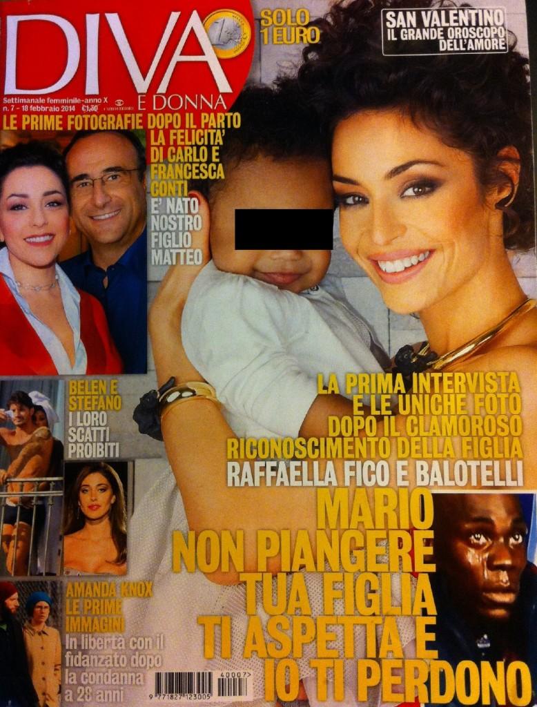 """Raffaella Fico: """"Se parlo a Pia del papà (Balotelli), lei bacia la sua foto"""""""