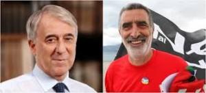 Giuliano Pisapia e Renato Accorinti