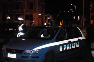 Una volante della polizia