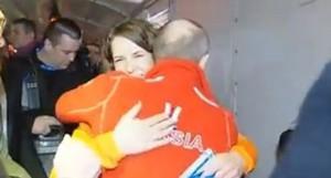 Sochi: Putin abbraccia la pattinatrice lesbo Ireen Wust