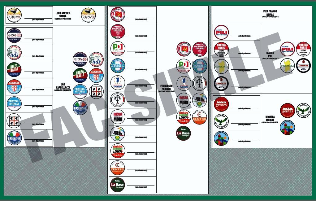Regionali Sardegna 2014, Carbonia Iglesias: tutte le liste e i candidati