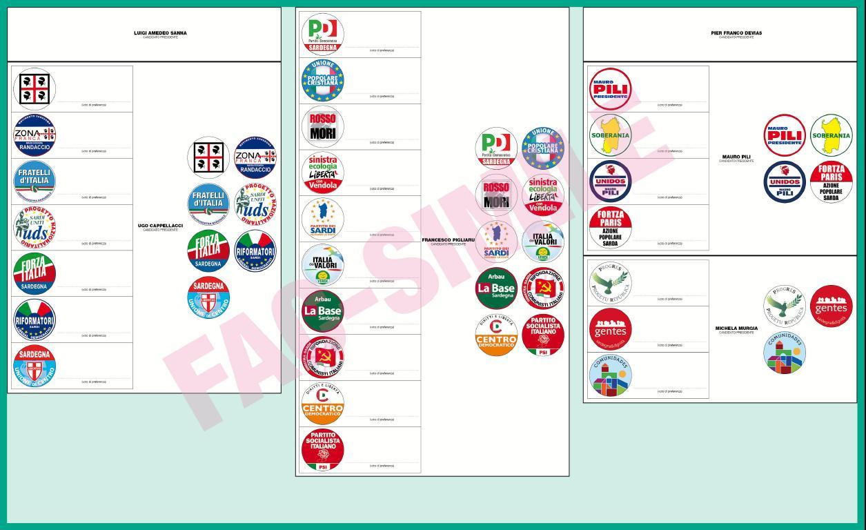 Elezioni Regionali Sardegna 2014: Medio Campidano, tutte le liste e i candidati