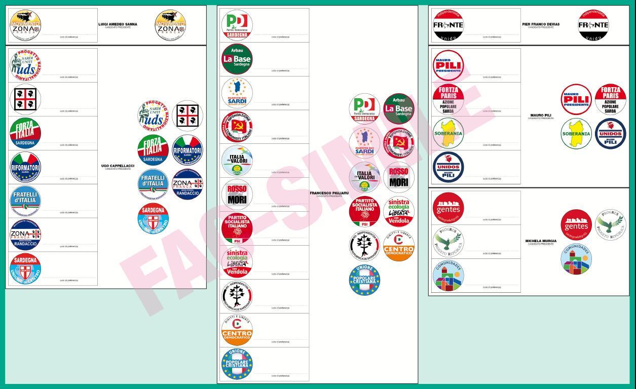 Elezioni Regionali Sardegna, Nuoro: tutte le liste e i candidati