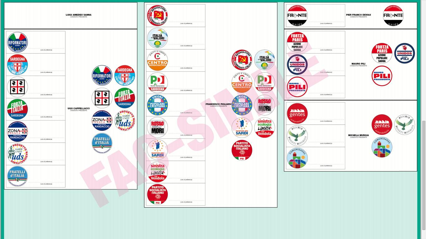 Elezioni Regionali Sardegna 2014: Ogliastra, tutte le liste e i candidati