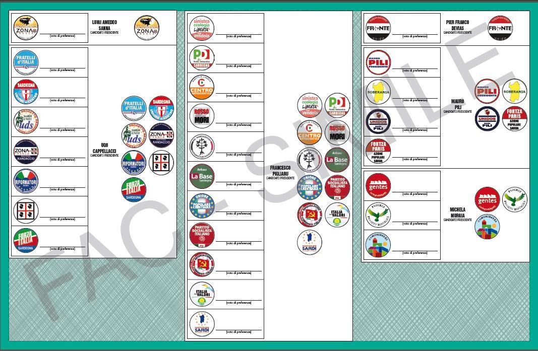 Elezioni Regionali Sardegna, Sassari: tutte le liste e i candidati