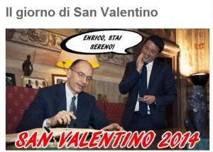 """Blog Beppe Grillo: """"Renzi carrierista, consultazioni Napolitano presa per c..."""""""