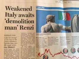 Renzi, l'altra fiducia: i mercati. Primo test aste titoli di Stati per 20 mld