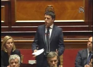 Matteo Renzi, diretta streaming voto fiducia al Governo