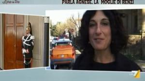 """La moglie di Renzi, Agnese: """"Per ora non vado a Roma, devo pensare ai figli"""""""