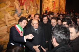 Napolitano a Matteo Renzi: prima legge elettorale e riforme. Solo dopo elezioni