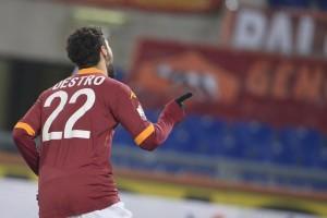 Roma, Mattia Destro gol per convincere Cesare Prandelli (LaPresse)