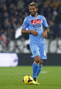 Roma-Napoli, Valon Behrami convocato per semifinale Coppa Italia (LaPresse)