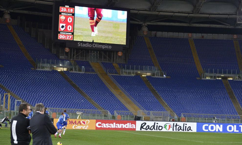 Roma-Inter, chiuse Curve e distinti Sud