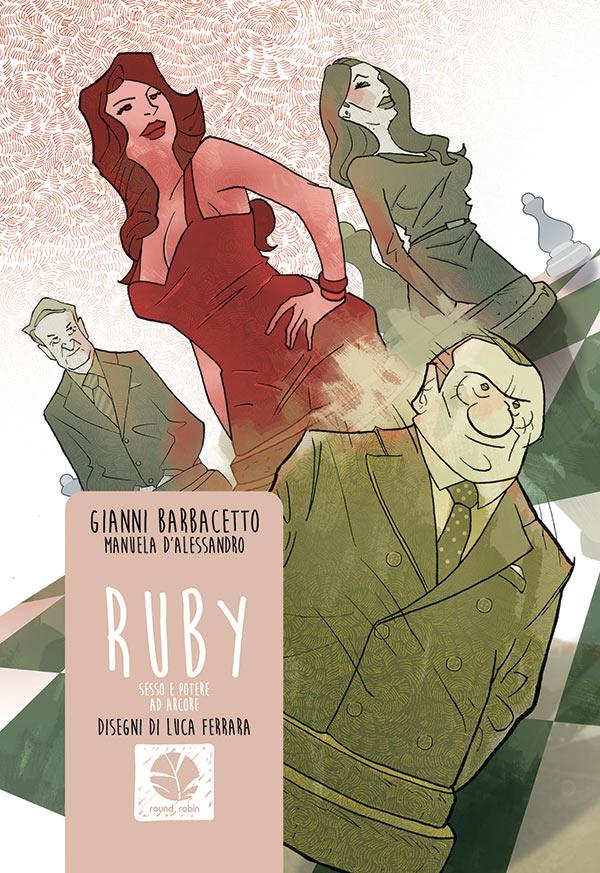 Ruby, Nicole Minetti e le notti del bunga-bunga diventano fumetti