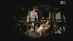 Sanremo, Antonio Sollazzo e Marino Marsicano minacciano il suicidio (video)