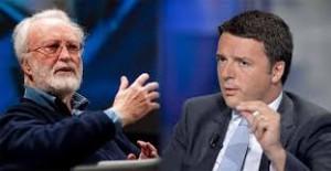 Matteo Renzi funambolo sul baratro economia. Scalfari: rischio commissariamento