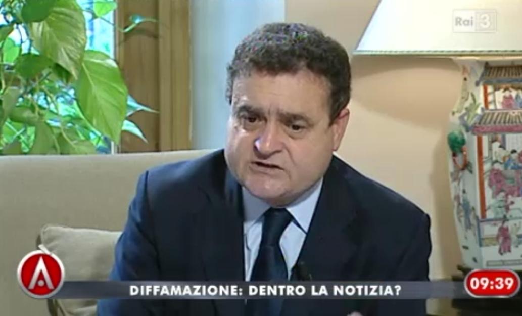"""Diffamazione, Franco Siddi (Fnsi): """"Ok eliminare carcere, ma servono modifiche"""""""