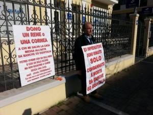 """Silvio Buttiglione, sua casa pignorata da Equitalia: """"Dono rene a chi mi aiuta"""""""