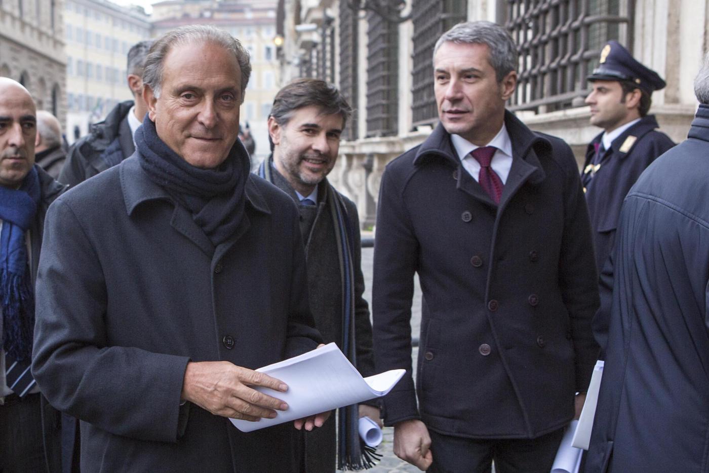 """""""Impegno 2014"""" - Enrico Letta riceve la delegazione dei popolari """"Per l'Italia"""""""