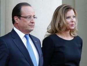 Valérie Trierweiler e Francois Hollande