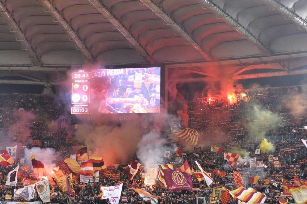"""Roma, con Samp e Inter curve chiuse. Effetto del """"Vesuvio lavali..."""""""