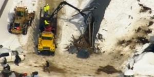 Crolla tetto stalla per il peso della neve: muoiono due mucche