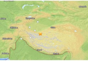 Terremoto Cina, scossa di magnitudo 6,8 nel Xinjiang