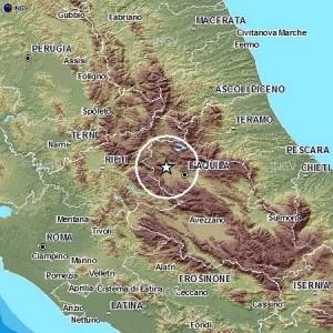 Terremoti: scossa 2.9 in provincia dell'Aquila, 2,2 a Perugia