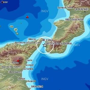 Terremoti, sciame sismico tra Calabria e Sicilia: 10 scosse, più forte del 2.9