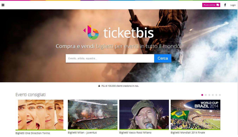 """Ticketbis: """"bagarino"""" online? No, """"tutto legale: siamo l'eBay dei biglietti"""""""