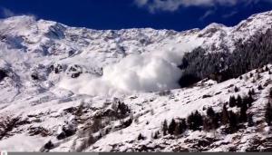 Valanga invade un maso in Alto Adige
