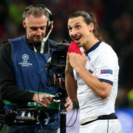 Ibrahimovic, due gol al Bayer (Ansa)