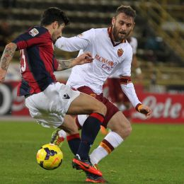Video gol e pagelle, Bologna-Roma 0-1: Nainggolan decisivo (Ansa)
