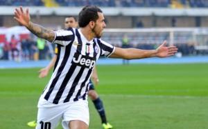 Video gol e pagelle, Juventus-Torino 1-0: Tevez decide derby della Mole (LaPresse)
