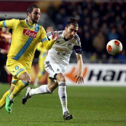Video gol e pagelle, Swansea-Napoli 0-0 e Lazio-Ludogorets 0-1 (Ansa)