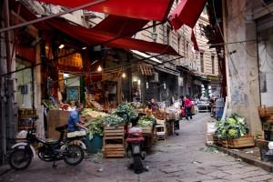 Palermo, crolla edificio al mercato della Vucciria