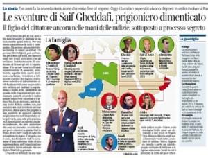 Le sventure di Saif Gheddafi, prigioniero dimenticato