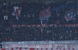 Tifosi del Milan (foto d'archivio)