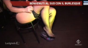 Lucignolo, Marilù e il burlesque a Polignano a mare